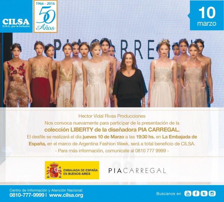 flyer-para-desfile-de-la-diseñadora-Pia-Carregal-a-beneficio-de-CILSA